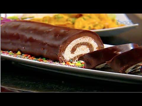 كاري الدجاج بالبطاطس - رول الشوكولاته وجوز الهند #غفران_كيالي من برنامج #هيك_نطبخ #فوود