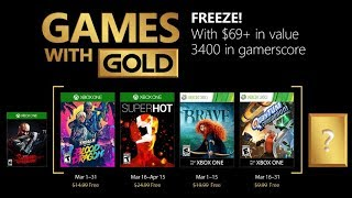 Xbox Games with Gold for March 2018 - Has Xbox Game Pass Negatively Impacted Games with Gold?!