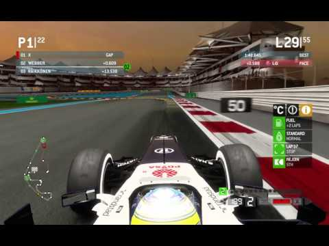 F1 2013 Williams Racing Team Grand Prix Of Abu Dhabi