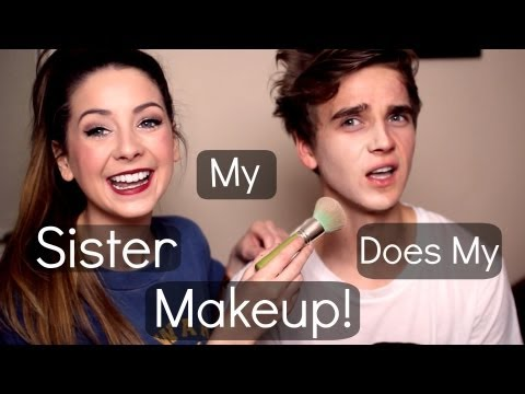 My Sister Does My Make Up | Thatcherjoe video