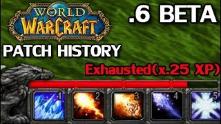 WoW Patch History: Patch 0.6 Beta
