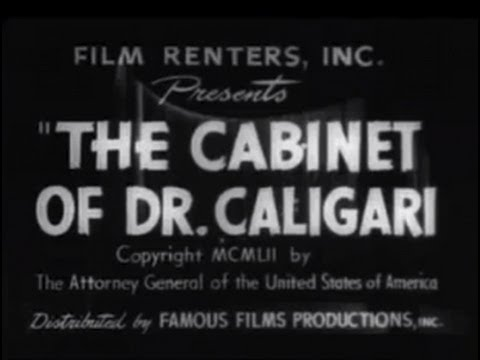 The Cabinet Of Dr. Caligari (1920) [silent Movie] [horror] video