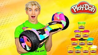 PLAY DOH HOVERBOARD MOD!!