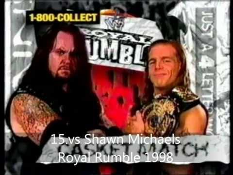 My Top 50 Undertaker Matches video