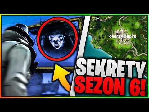 5 STRASZNYCH SEKRETÓW W FORTNITE SEZON 6 !!