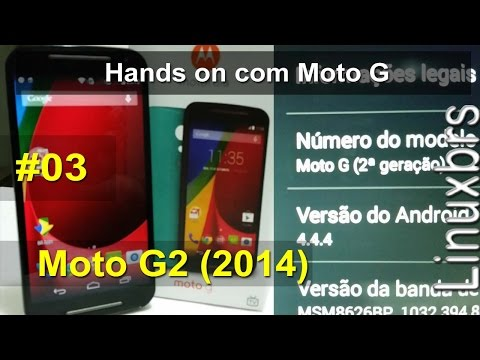 Motorola Moto G2 (2014) - Hands on com Moto G rápido - PT-BR - Brasil