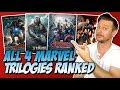 All Four MCU Trilogies Ranked! (Franchise Showdown)