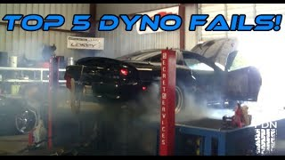 Top 5 Worst Dyno Fails COMPILATION! | [2014]