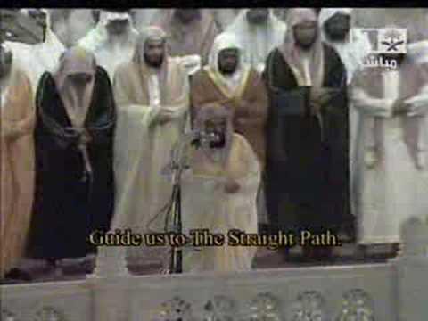 Makkah Taraweeh-(night 1)-sheikh Sudais video