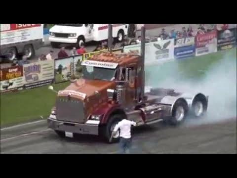 Caminhão X Carro - Arrancada Monstro