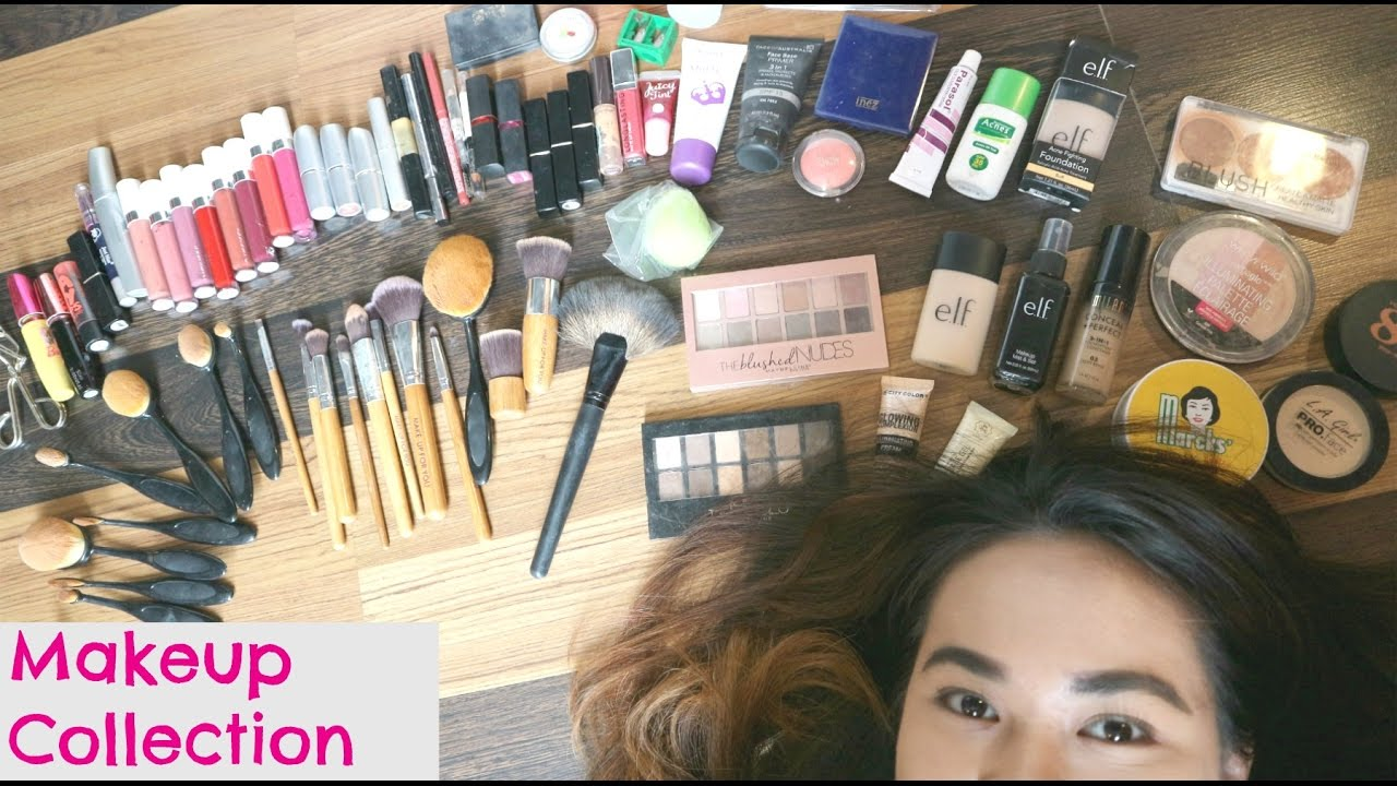 Biggest makeup collection