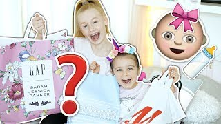KiDS GO BABY CLOTHES SHOPPiNG CHALLENGE! 👶🛍️