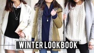 Winter Lookbook   Fashion Outfit Ideas   Miss Louie