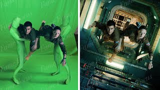 Amazing Before & After Hollywood VFX: Life