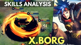 X.BORG : NEW FIGHTER HERO SKILL AND ABILITY ANALYSIS | Mobile Legends