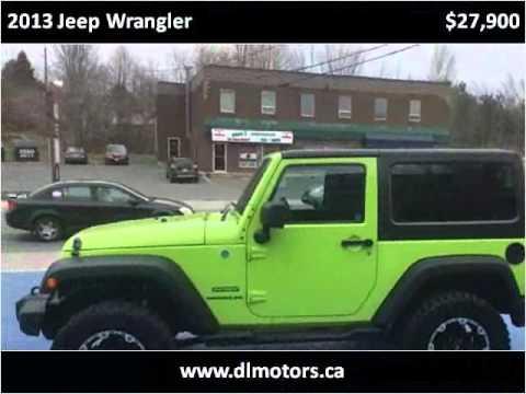 2013 Jeep Wrangler Used Cars Fredericton New Brunswick