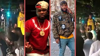50 Cent Comes Face To Face With The Game In LA Club G-Unit Reunion Coming? Get The Strap! (2018)