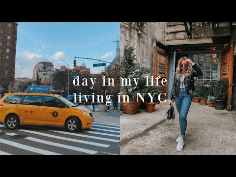A SUNDAY IN MY LIFE LIVING IN NEW YORK CITY // winter morning routine