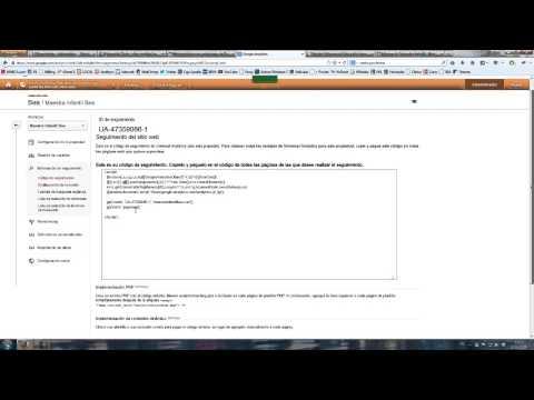 Cómo vincular Google Analytics con Webmaster tools