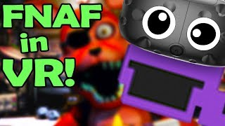 FNAF in VR! PLAY as the PURPLE MAN! - (Five Nights at Freddy's Virtual Reality Remake)