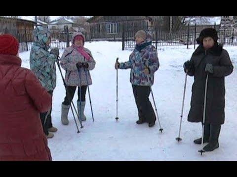 Час туда, час обратно: для чего горковские пенсионеры покоряют просторы скандинавской ходьбой?