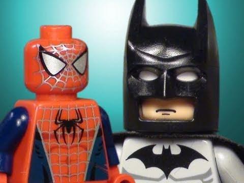The lego batman spider man superman movie how to - Spiderman batman lego ...