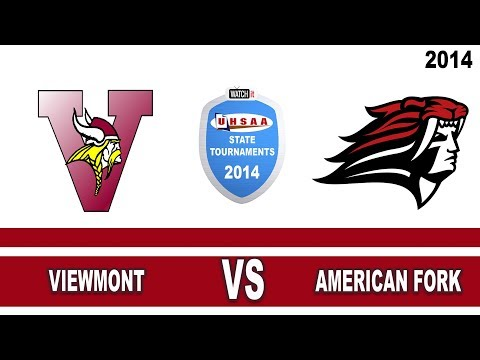 5A Boys Basketball: Viewmont vs American Fork Utah High School State Tournament 3/4/14