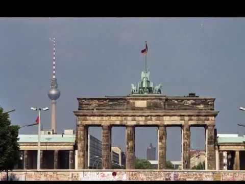 A tribute to the reunification of Germany, 1989--1990.
