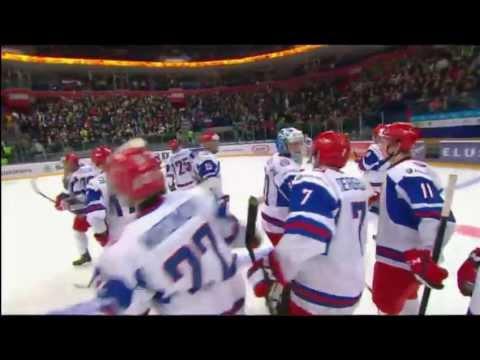 Россия - Словакия 3-2 OT. Rus - Svk 3-2 OT. IIHF WORLD JUNIORS CHAMPIONSHIP 2013.