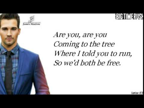 Hanging Tree James Maslow, Cover Lyrics