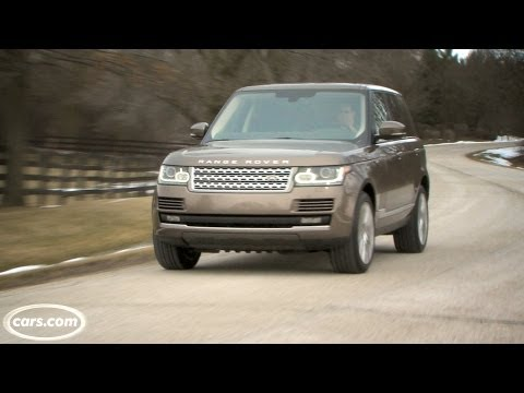 2013 Land Rover Range Rover Exhaust Note