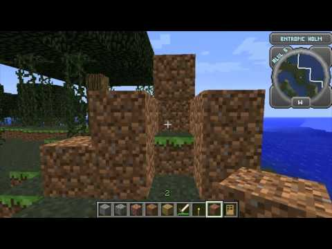 Hack Slash Mine Mod 1.2.3 Minecraft Mod Review and Tutorial ( Client And Server ) Easy!
