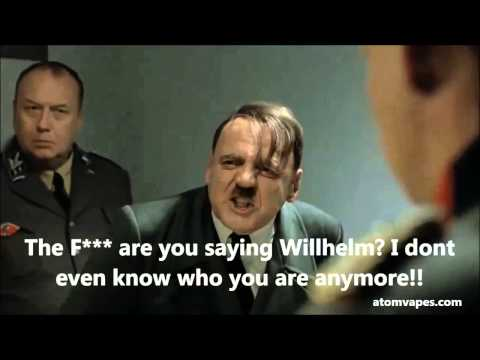 Tobacco CEO Hitler Rants about Electronic Cigarettes