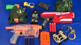 Box of Toys for Kids Learn Colors Toy Guns Toy Weapons Military Toys