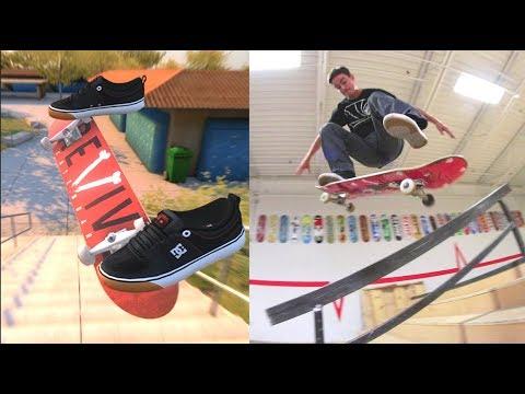 Skateboarding Video Game VS Real Life!