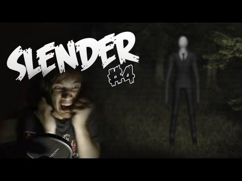 SLENDER - FINAL ATTEMPT! - SLENDER - Part 4 - Let's Play