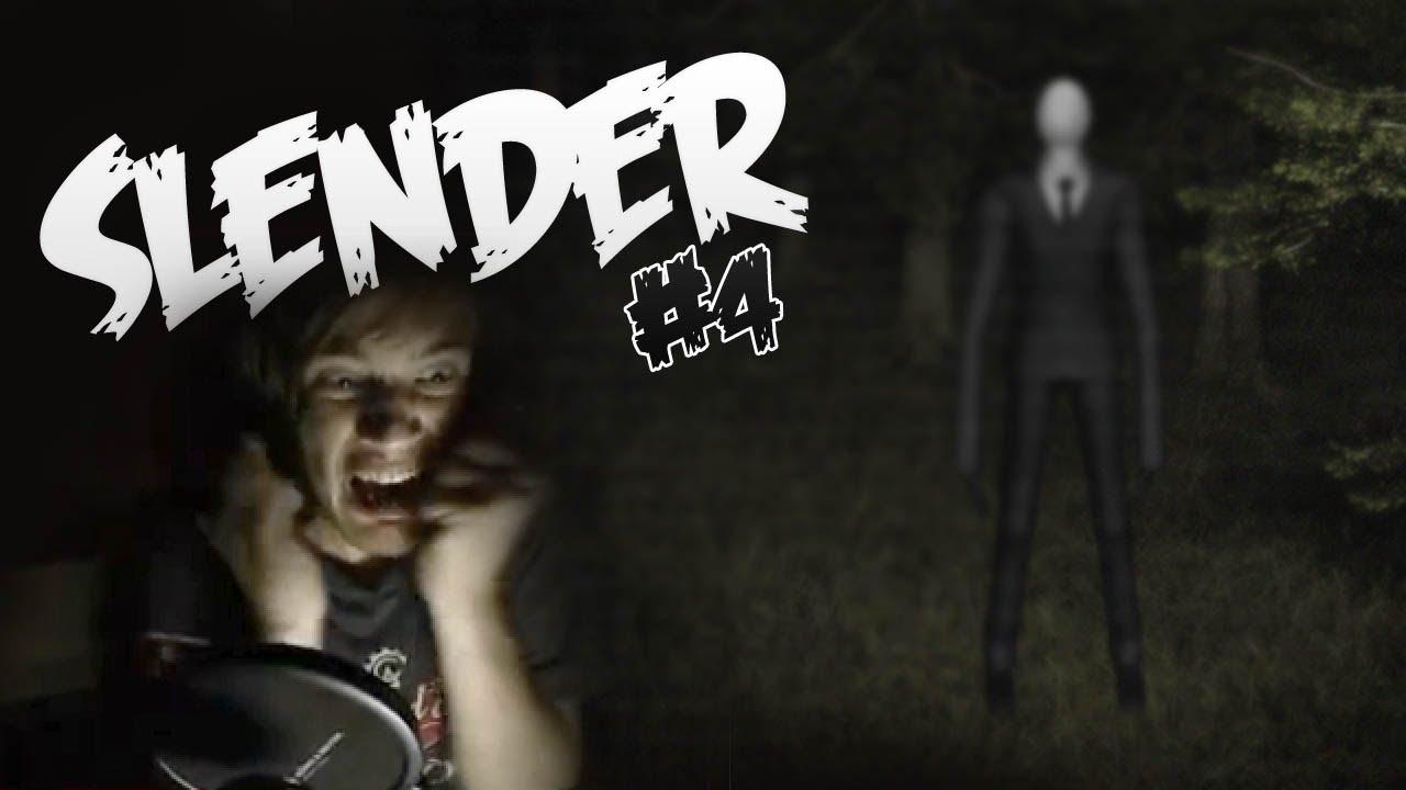 Slender Man Plays Slender Slender Part 4 Let's Play