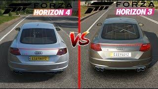 Forza Horizon 4 vs Forza Horizon 3 | Startup, Graphics, Sound, Off-road, GAMEPLAY Full Comparison