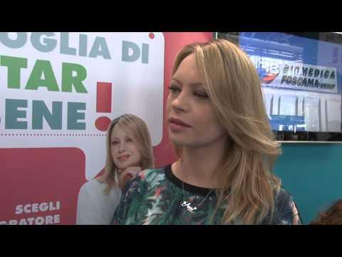 Voglia di star bene al Cosmofarma 2014 – Intervista ad Anna Falchi