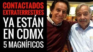 Ya están en CDMX los cinco Contactados para el congreso