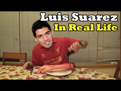 Luis Suarez in Real Life