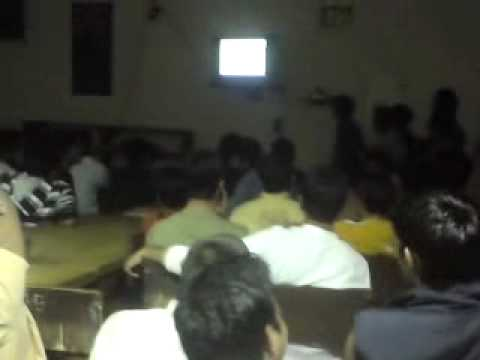 Sachin Tendulkar's Historic Odi 200 Celebrations, Live At Hostel-b, Thapar University, Patiala. video
