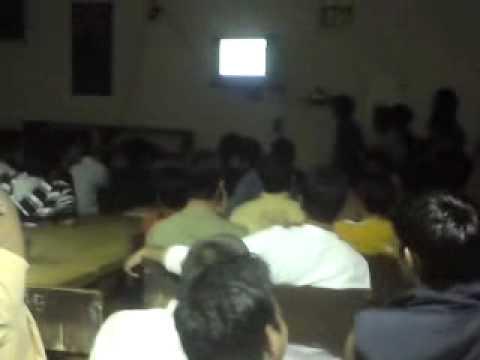 Sachin Tendulkar's Historic Odi 200 Celebrations, Live At Hostel-b, Thapar University, Patiala. video