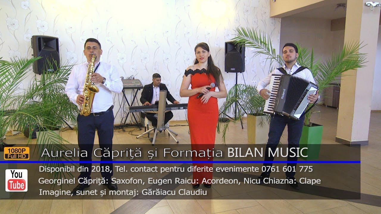 Aurelia Caprita si Formatia BILAN MUSIC   Colaj HORA LIVE 2017   Contact 0761 601 775