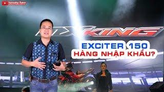 Vạch trần sự thật Exciter 150 nhập khẩu Thái Lan hay MX King Indonesia ▶