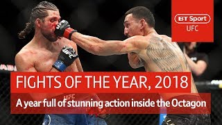 The 10 best UFC fights of 2018