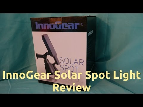 InnoGear Solar Spot Light Review