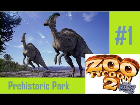 Zoo Tycoon 2 - Prehistoric Park #1 Smelly Lizards