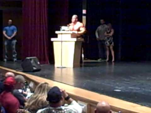 Jay Cutler speaks at West Michigan Bodybuilding, Fitness, Figure & Bikini ...