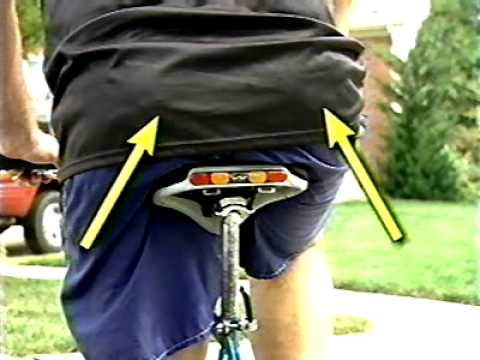 The Worlds Most Comfortable Bicycle Seat Youtube